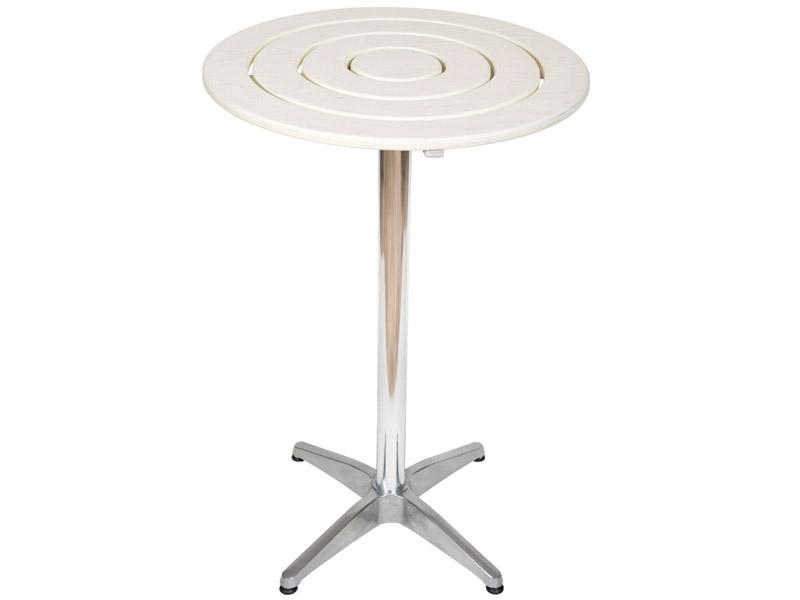 Τραπέζι Μπαρ ΚΡΟΝΟΣ - Βάση Αλουμινίου
