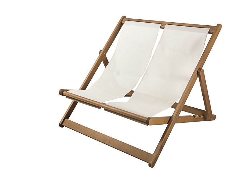 Beach Chaise Longue - K 4003- Double