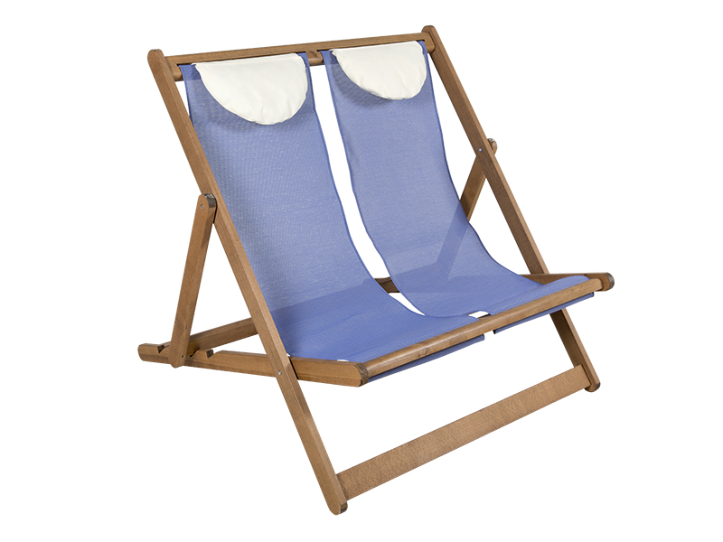 Beach chaise longue k 4003 double k sifakis bros gp for Chaise longue double exterieur