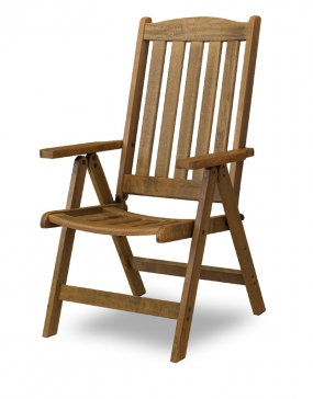 Fold Up Armchair  K2018 -5positions