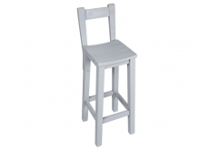 Bar Stool KOILO with Âack - S107