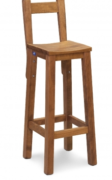Bar Stool KOILO with Βack - S107