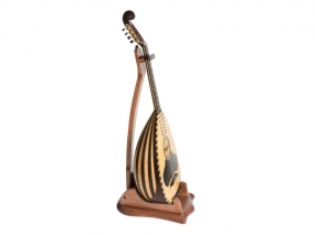 Wooden Stand for Lute